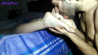 Teen : Hot footjob for a fetish passionate st valentines day Ep1